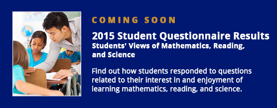 Coming Soon. 2015 Science Assessment Results.