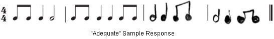 """Adequate"" Sample Response"