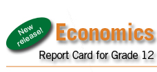 New Release! Economics Report Card.