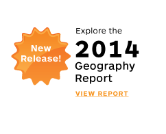New Release! Explore the 2014 Geography Report. View Report. style=