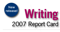 New Release! Writing Report Card.
